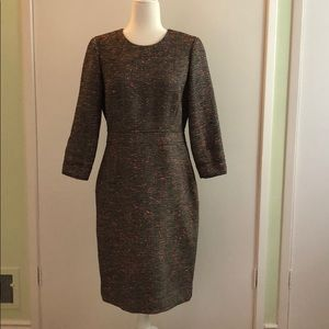 J. Crew Dress Modern Tweed Size 8 NWT